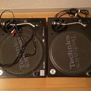 パナソニック(Panasonic)のTECHNICS MK5 ターンテーブル2台セット(ターンテーブル)