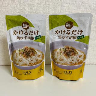カルディ(KALDI)の麺にかけるだけ 鶏ゆず胡椒つゆ カルディ(その他)