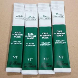 ドクタージャルト(Dr. Jart+)のVT CICA sleepigmask 4本セット 韓国コスメ 美容 クリーム(フェイスクリーム)