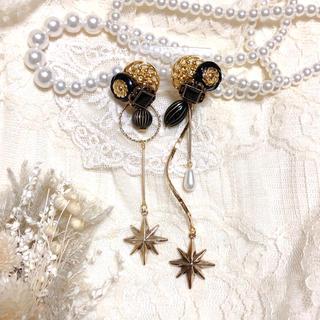 アメリヴィンテージ(Ameri VINTAGE)の一点物✴︎星降る夜の耳飾り(イヤリング)