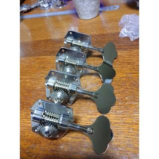 ベース用糸巻き(ニッケル)カラーGB-9(パーツ)