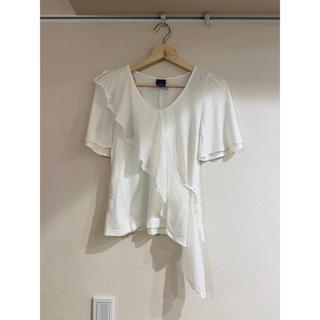 エイト(8iGHT)の8ight エイト カットソー トップス ブラウス 白T(Tシャツ(半袖/袖なし))