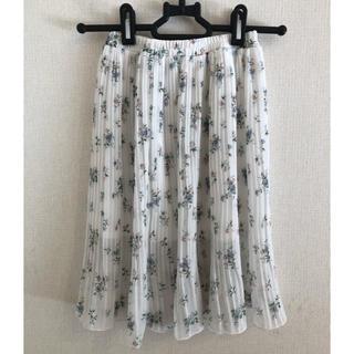 シマムラ(しまむら)の小花柄プリーツスカート 110(スカート)
