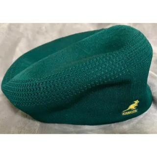 カンゴール(KANGOL)のカンゴール kangol ハンチング ベレー帽 緑(ハンチング/ベレー帽)
