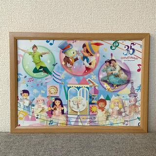 ディズニー(Disney)のディズニー カレンダー ポスター スモールワールド B4-20(ポスター)