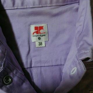 クレージュ(Courreges)のクレージュシャツです。(Tシャツ(半袖/袖なし))
