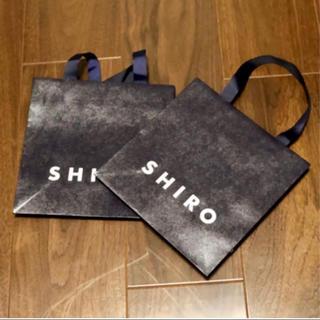 シロ(shiro)の[新品/未使用] SHIRO ショップ袋 トートバッグ(ショップ袋)