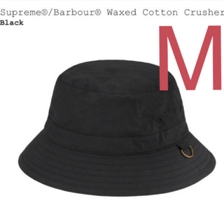 シュプリーム(Supreme)のSupreme®/Barbour® Waxed Cotton Crusher 黒(ハット)