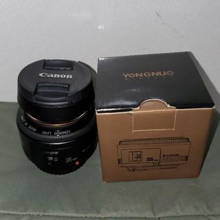 YONGNUO 35mm f2単焦点 CANON(レンズ(単焦点))