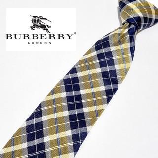 BURBERRY - 【割引あり】【美品】バーバリーロンドン チェック ネクタイ