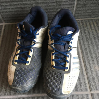 adidas - adidas テニスシューズ26.5センチ!
