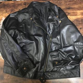 シマムラ(しまむら)の大きいサイズ 4L ライダース(ライダースジャケット)