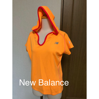 ニューバランス(New Balance)のNB ニューバランスフーテッドシャツM(ウェア)