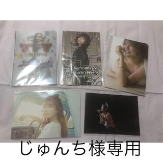 トリプルエー(AAA)の宇野実彩子 ポストカード(女性タレント)