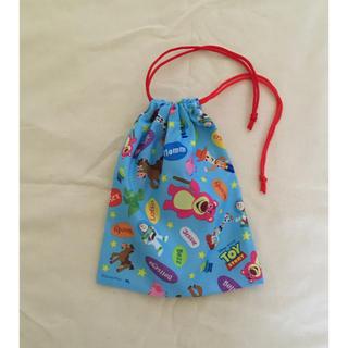 トイストーリー(トイ・ストーリー)のトイストーリー コップ袋 巾着袋(ランチボックス巾着)