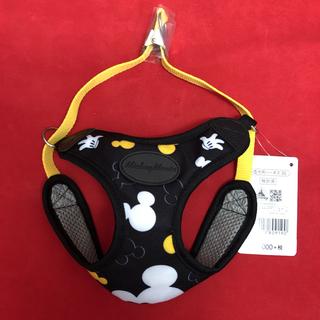 ディズニー(Disney)のディズニーストア 小型犬用ハーネス 3S 黒 ペット用ヘアーアクセサリー(犬)