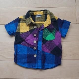 しまむら - 半袖 チェックシャツ