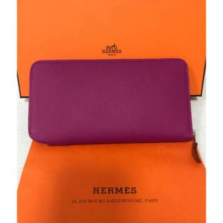 エルメス(Hermes)のエルメス シルクイン ローズパープル 新品未使用品!定価160,600円(長財布)