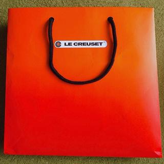 ルクルーゼ(LE CREUSET)のル・クルーゼ 紙袋・箱(ネオ・ボールL用)(ショップ袋)