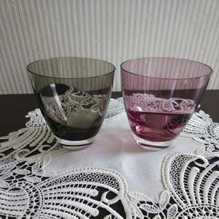 スガハラ(Sghr)のスガハラガラスペアグラスお値下げ(グラス/カップ)