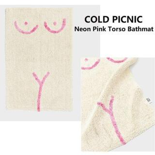 アクタス(ACTUS)の【sale】cold picnic コールドピクニック バスマット ピンク(バスマット)