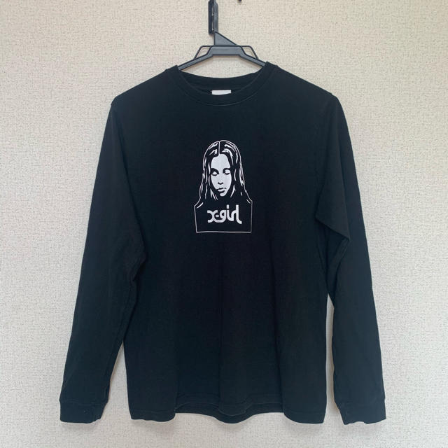 X-girl(エックスガール)のX-girl エックスガール Tシャツ ロンT レディースのトップス(Tシャツ(長袖/七分))の商品写真