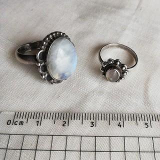 シルバー925×天然石 リング 指輪(リング(指輪))