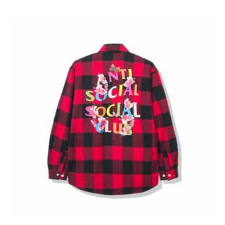 アンチ(ANTI)のAnti Social Social Club ASSC フランネルシャツ(シャツ)