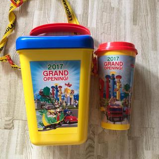 レゴ(Lego)のレゴランド ジャパン LEGOLAND グランドオープンポップコーンケースマグ(遊園地/テーマパーク)