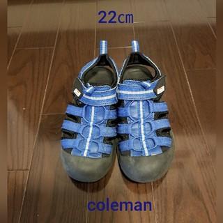 Coleman - colemanサンダル 22㎝
