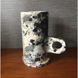 イデー(IDEE)の💟エコパークポタリー レア柄 コーヒーカップ マグカップ IDEE☕️(グラス/カップ)