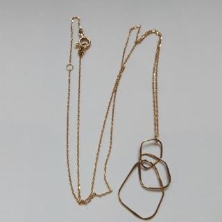 ココシュニック(COCOSHNIK)のココシュニックK10ネックレス(ネックレス)