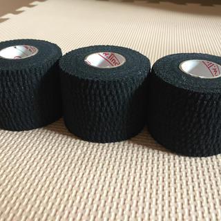 テアライトテープ 黒 3個(ボウリング)
