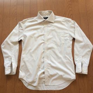 コムサイズム(COMME CA ISM)のコムサイズムのワイシャツ 薄いベージュ色 Lサイズ(シャツ)