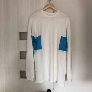 ジーユー(GU)のジーユー メンズ(Tシャツ/カットソー(七分/長袖))