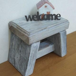 踏み台 スツール アンティーク 椅子(家具)