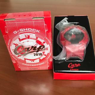 ジーショック(G-SHOCK)の新品未使用 2000本限定 CASIO G-SHOCK カープ 2018年モデ(記念品/関連グッズ)