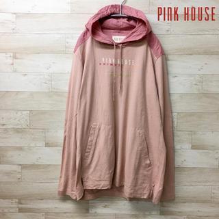 PINK HOUSE - 【 PINK HOUSE 】パーカー(M) チェック柄 異素材 切替
