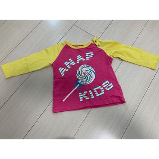 アナップキッズ(ANAP Kids)の♡ANAP・ロゴT♡(Tシャツ)