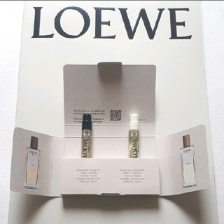 ロエベ(LOEWE)のロエベ 001 マン/ウーマン オードパルファン 香水 2ml セット(ユニセックス)