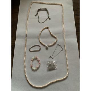 アクセサリー まとめ売り ネックレス ブレスレット 7種類 お得セット(ネックレス)