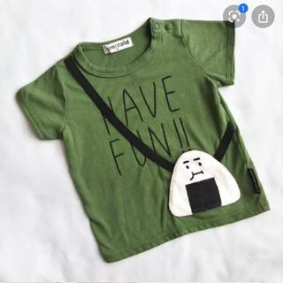 しまむら - ミモランド おにぎり Tシャツ 80
