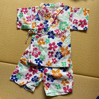エフオーキッズ(F.O.KIDS)の甚平 花柄(甚平/浴衣)