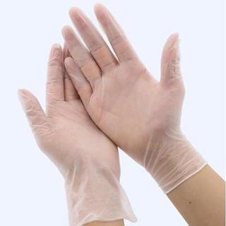 ゴム手袋Mサイズ100枚(日用品/生活雑貨)