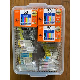エプソン(EPSON)のEPSON エプソン用 IC6CL50 替インク 写真のもの全て46点!(OA機器)