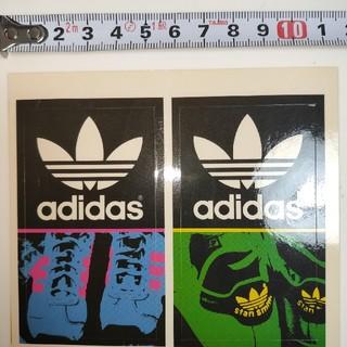 アディダス(adidas)の当時物adidasアディダスステッカーセット スニーカー トレフォイルロゴ(その他)