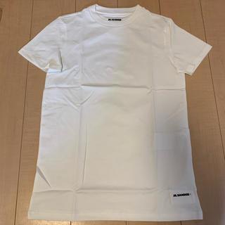 ジルサンダー(Jil Sander)のジルサンダー Tシャツ コットン M(Tシャツ(半袖/袖なし))