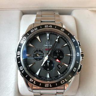 オメガ(OMEGA)のオメガ  シーマスター クロノグラフ GMT(腕時計(アナログ))