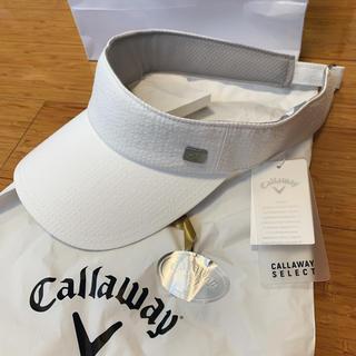 キャロウェイゴルフ(Callaway Golf)のPig pigさまご専用キャロウェイ メンズ サンバイザー 新品未使用(サンバイザー)