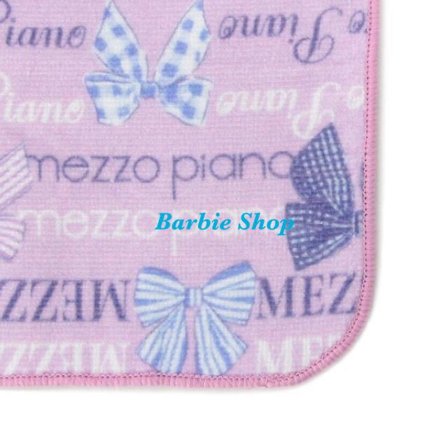 mezzo piano(メゾピアノ)のメゾピアノ リボンロゴハンドタオル 【新品未使用】 キッズ/ベビー/マタニティのこども用ファッション小物(その他)の商品写真